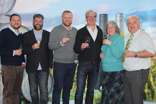 staff members at Lanchester Wines